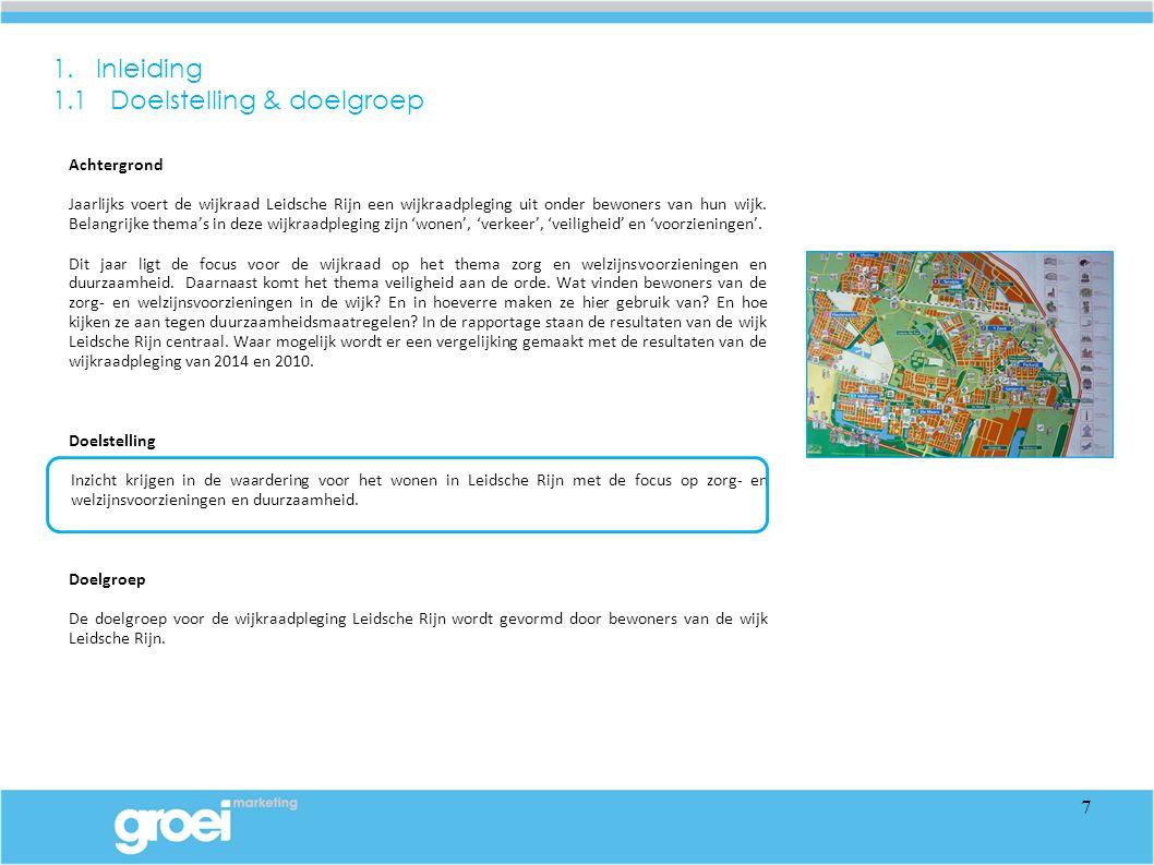 Achtergrond Jaarlijks voert de wijkraad Leidsche Rijn een wijkraadpleging uit onder bewoners van hun wijk.