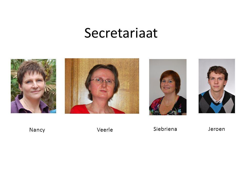 Secretariaat NancyVeerle SiebrienaJeroen