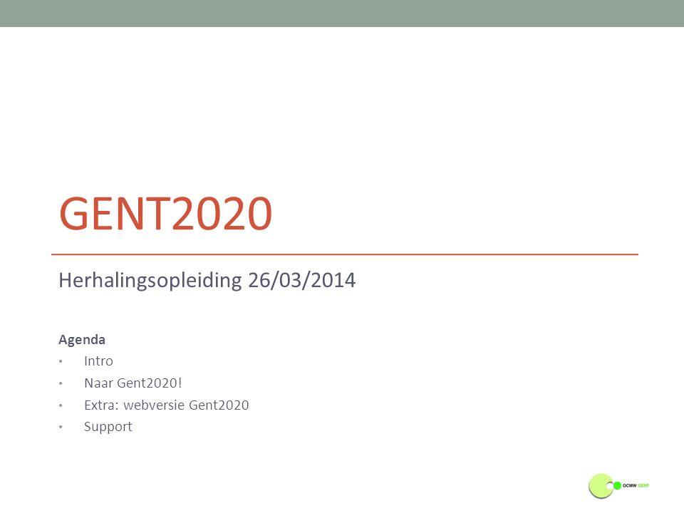 Indicatoren - Rollen (Mede-)Eigenaar Een indicator wordt in Gent 2020 aangemaakt, beheerd en geëvalueerd door de 'eigenaar'.