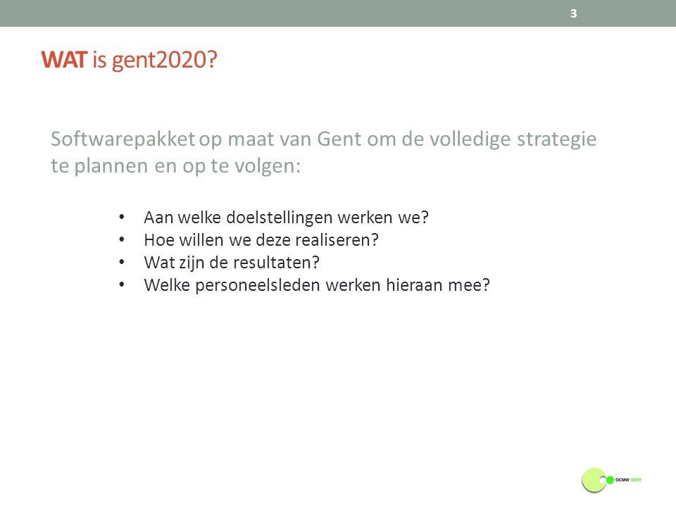 WAAROM werken we met Gent2020.4 Om te beantwoorden aan de BBC regelgeving.