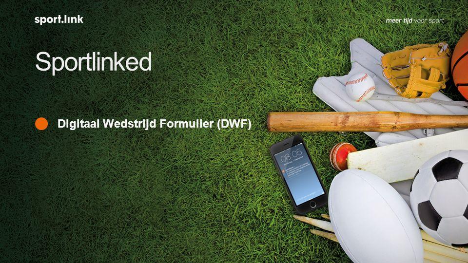 Sportlinked 13 Digitaal Wedstrijd Formulier (DWF)