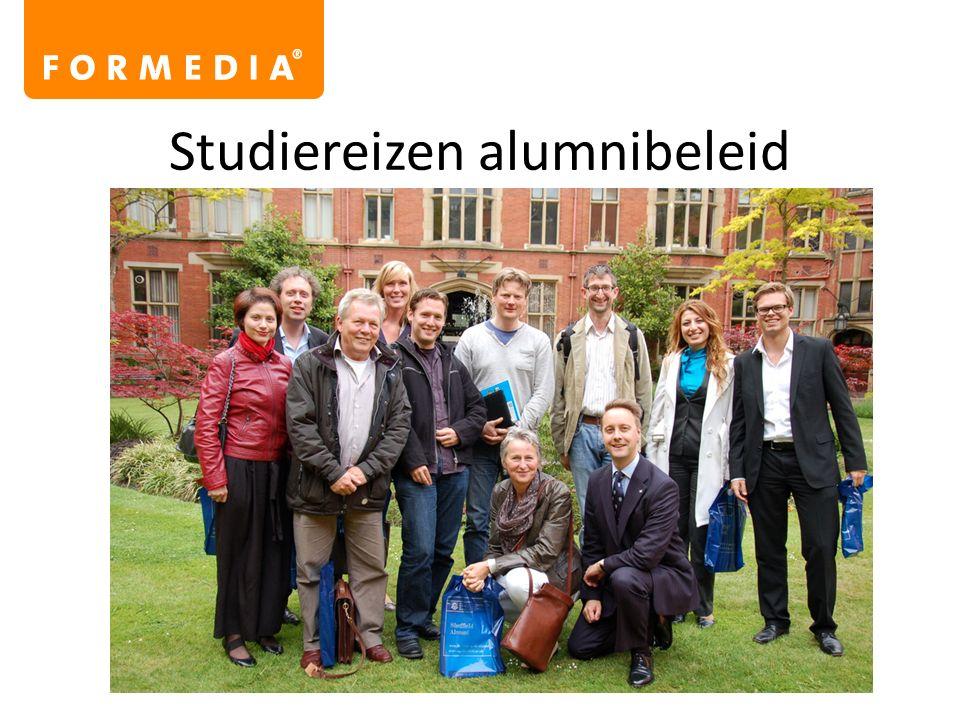 Studiereizen alumnibeleid