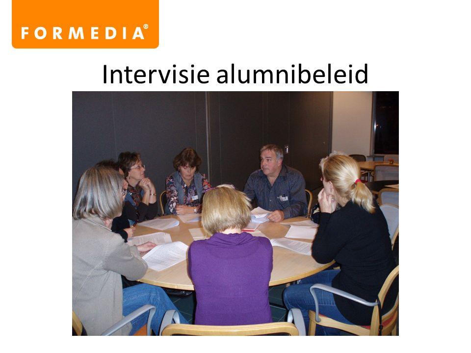 Intervisie alumnibeleid