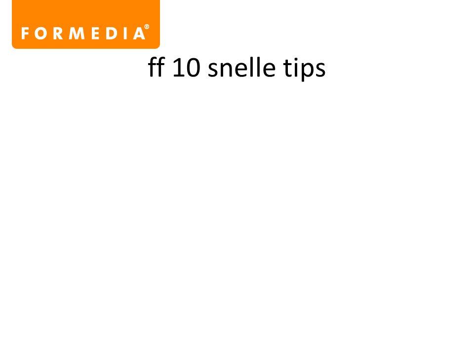 ff 10 snelle tips