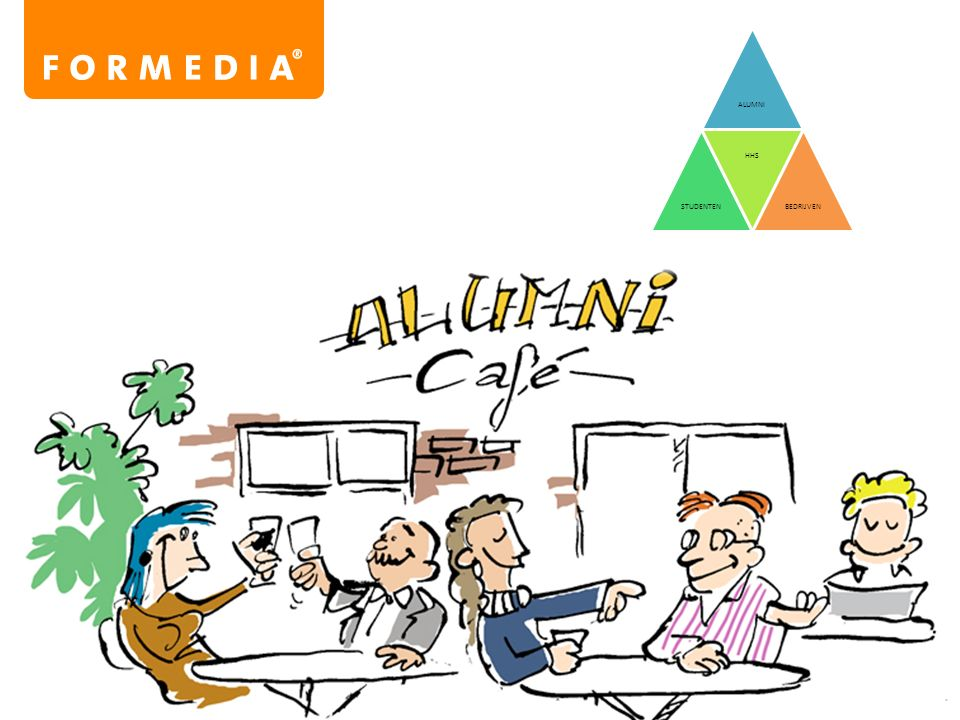 8. Netwerk belangrijker dan diensten Het samenbrengen van alumni en er zorg voor dragen dat het netwerk van alumni wordt verrijkt, is belangrijker dan