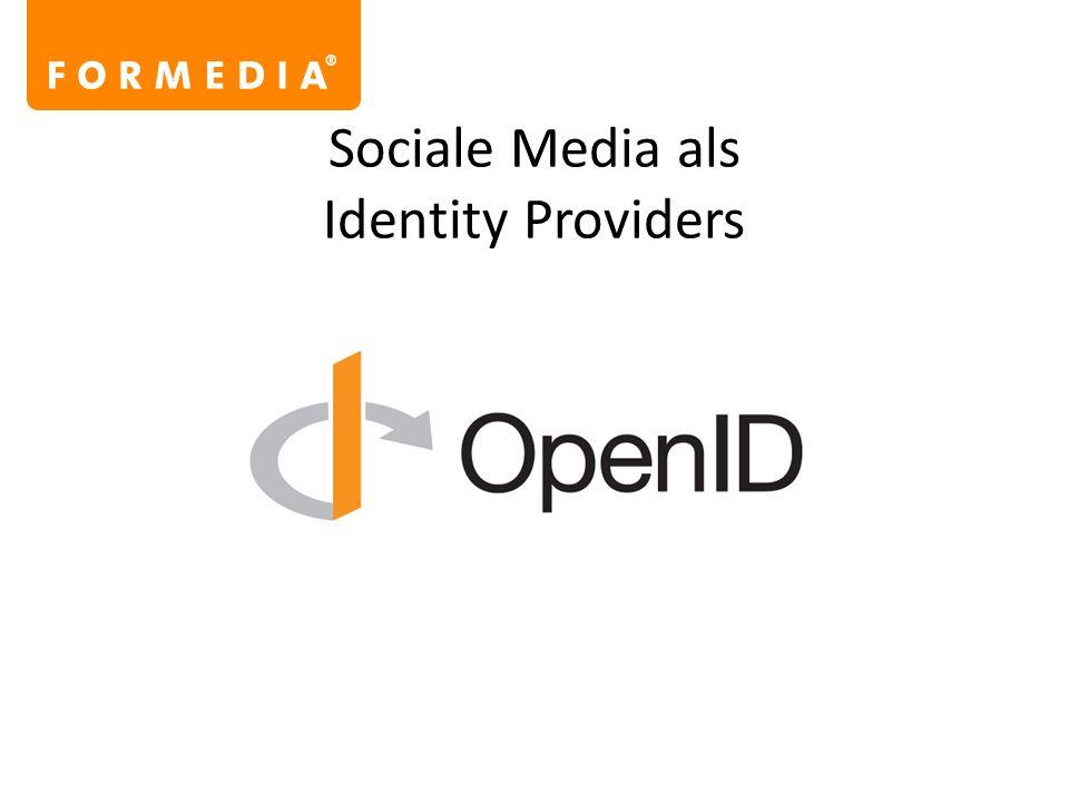 Sociale Media als Identity Providers