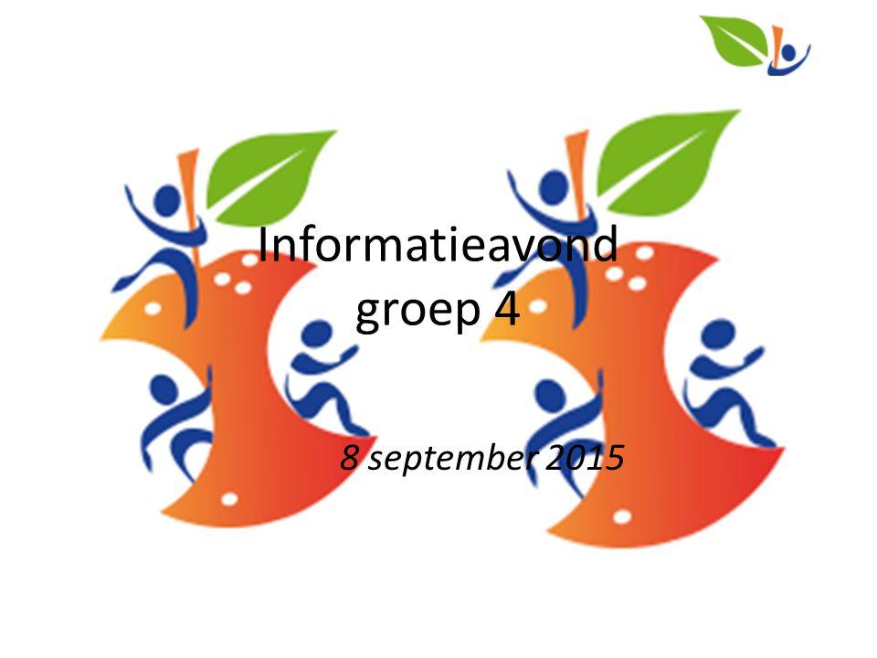 Informatieavond groep 4 8 september 2015