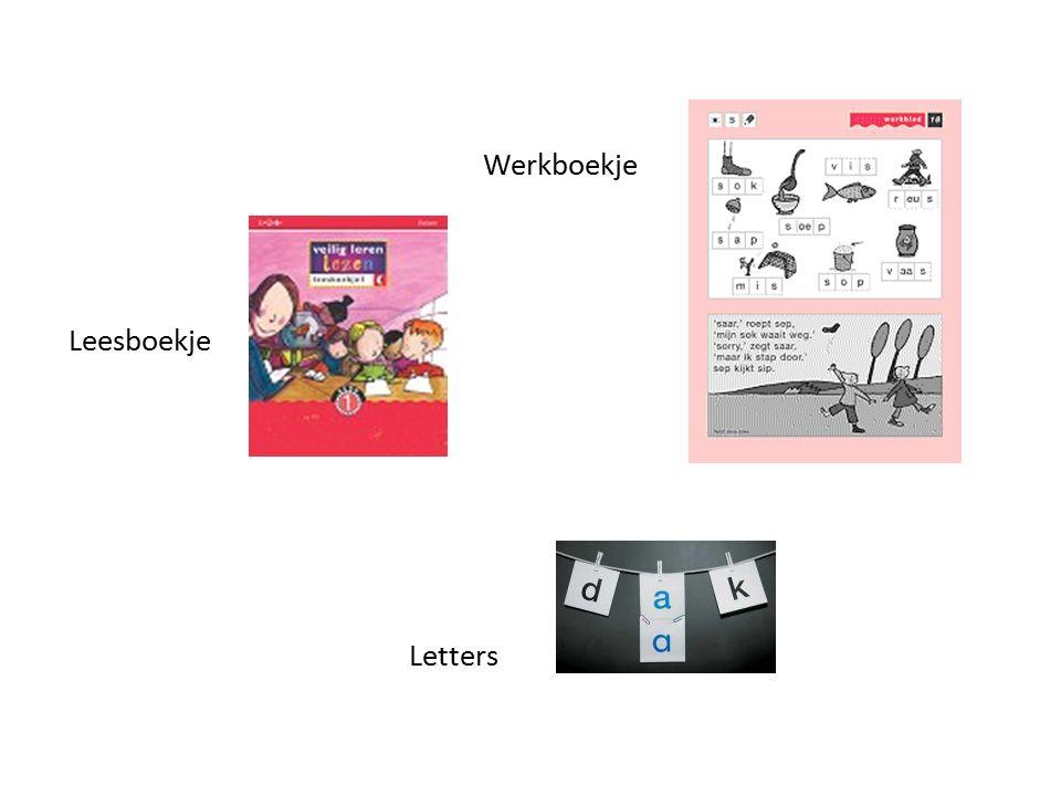 Leesboekje Werkboekje Letters