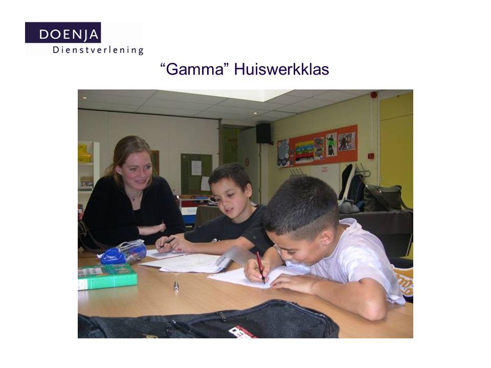 """""""Gamma"""" Huiswerkklas"""