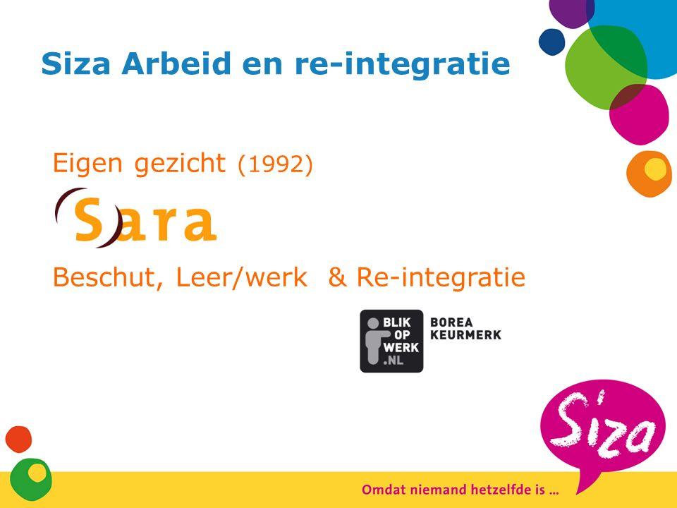 Siza Arbeid en re-integratie Eigen gezicht (1992) Beschut, Leer/werk & Re-integratie