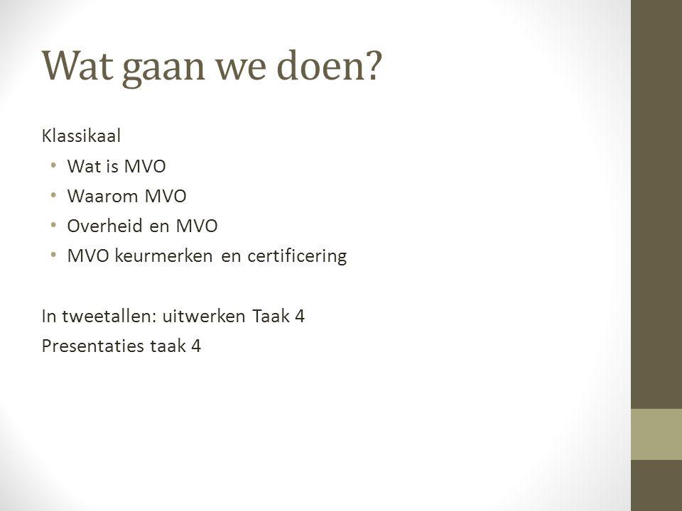 Wat is MVO.integrale visie op een duurzame bedrijfsvoering.