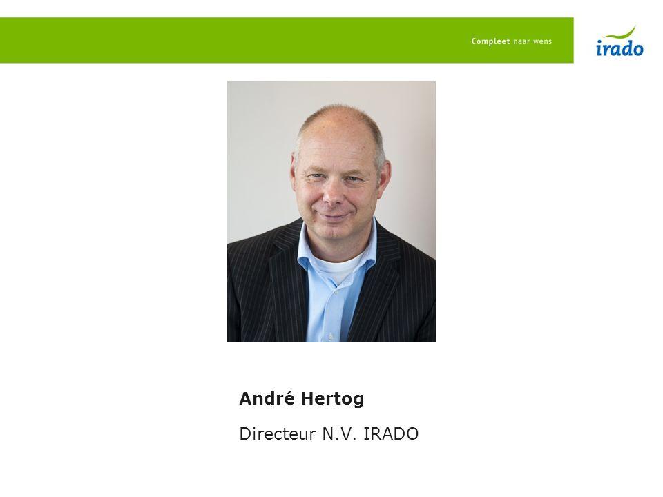 André Hertog Directeur N.V. IRADO