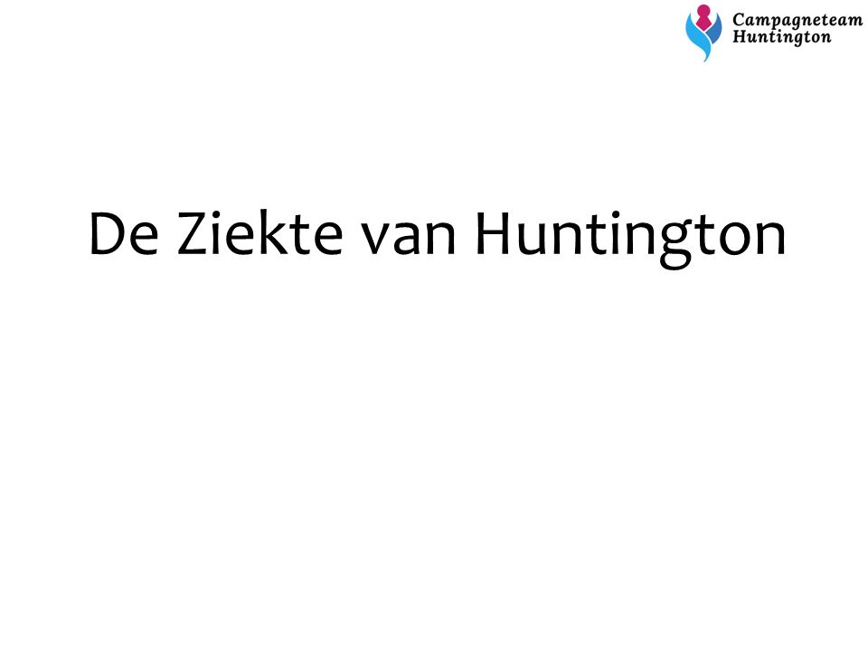 De Ziekte van Huntington