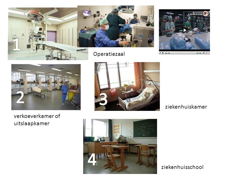 Operatiezaal verkoeverkamer of uitslaapkamer ziekenhuisschool ziekenhuiskamer