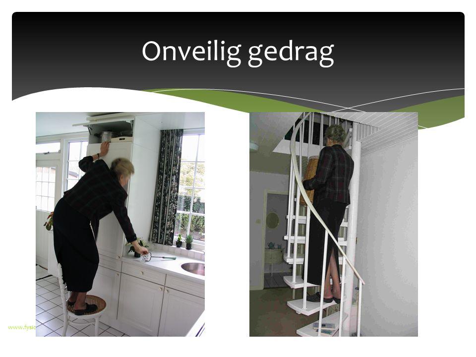 Onveilig gedrag www.fysiowestsingel.nl