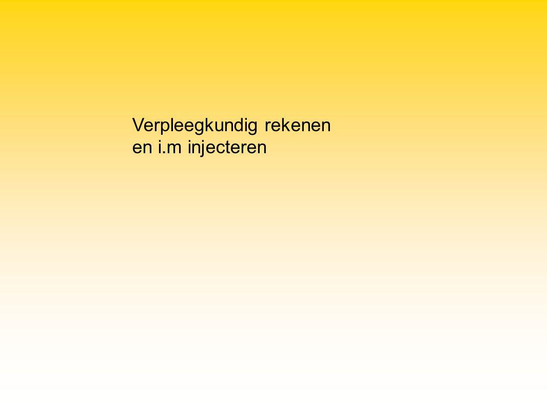 De patiënt verdraagt de oraal te gebruiken medicatie niet Wanneer een snelle resorptie van het geneesmiddel noodzakelijk is Geschikt voor geneesmiddelen die subcutaan necrose veroorzaken (vb.
