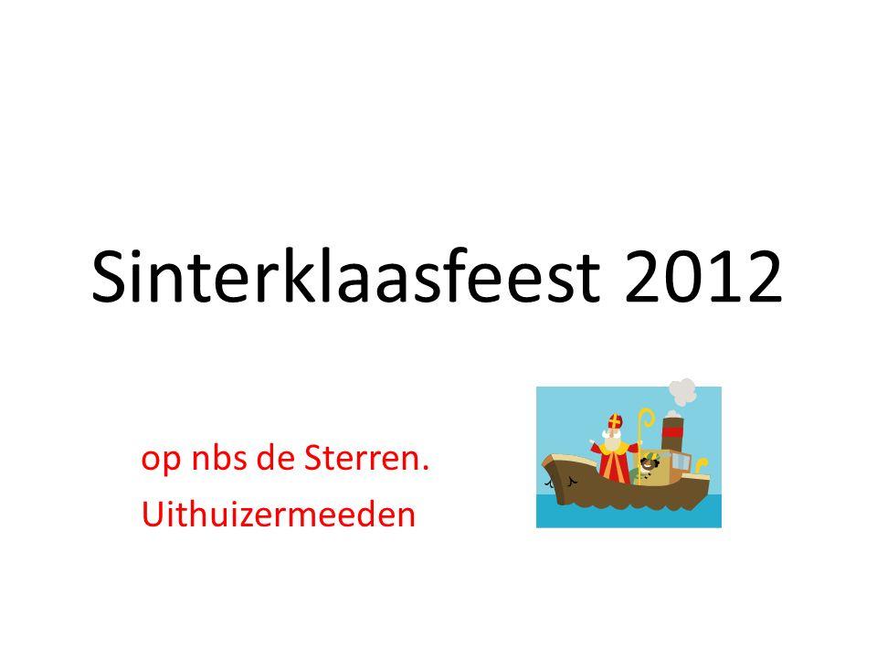 Sinterklaasfeest 2012 op nbs de Sterren. Uithuizermeeden