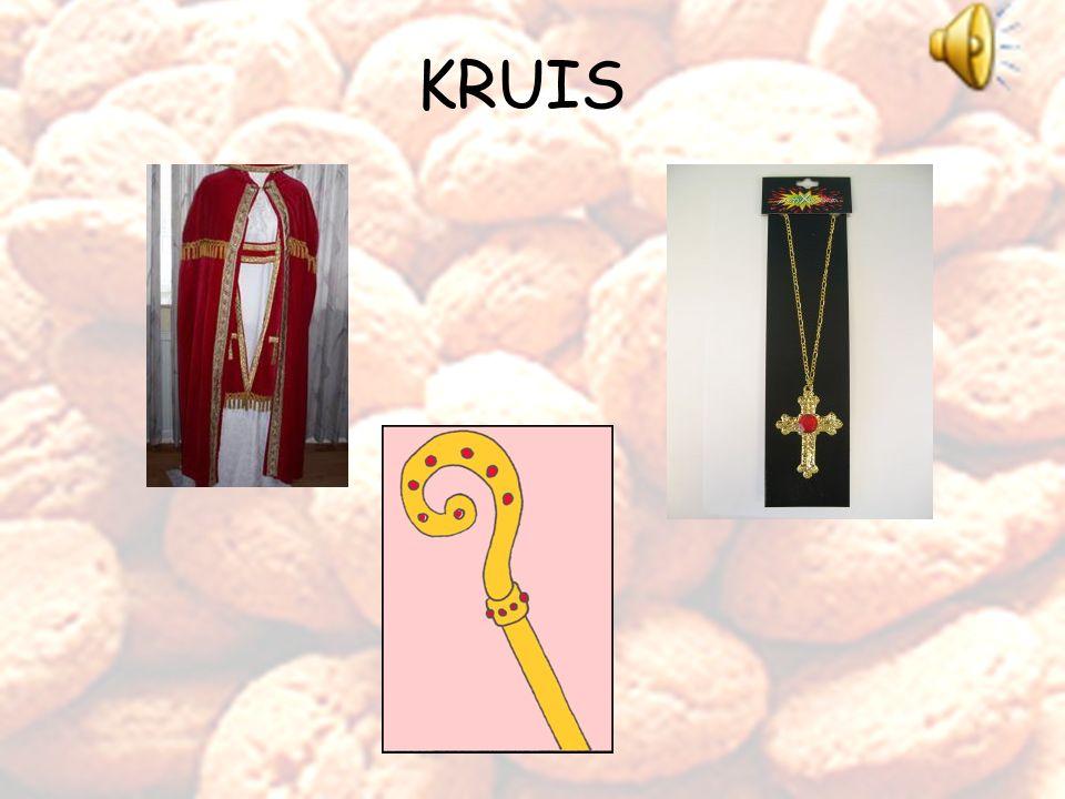 Goed zo. Dit is de mantel van Sinterklaas. Goed zo.