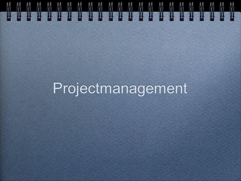 Mensen en projecten Projectgroep (allemaal eindverantwoordelijk voor het slagen van het project voor het geheel en voor zijn/haar specifieke onderdeel) Selectie van projectmedewerkers (intern of extern) op basis van ervaring, deskundigheid en vaardigheden