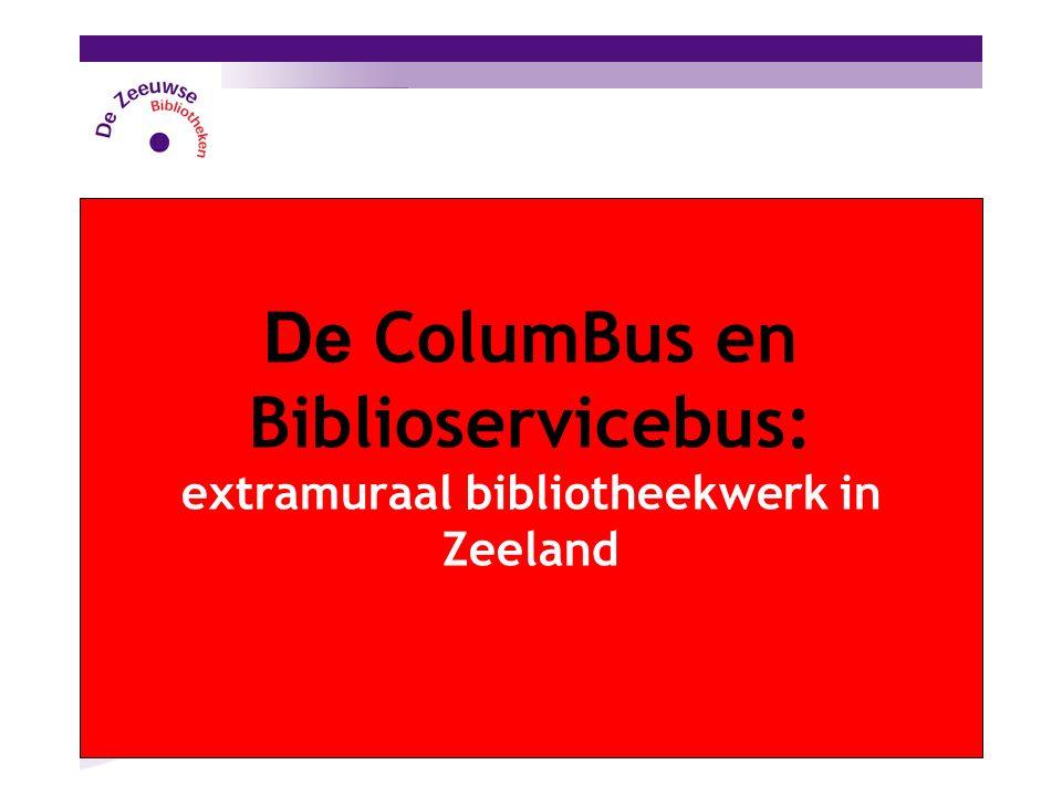 De ColumBus en Biblioservicebus: extramuraal bibliotheekwerk in Zeeland