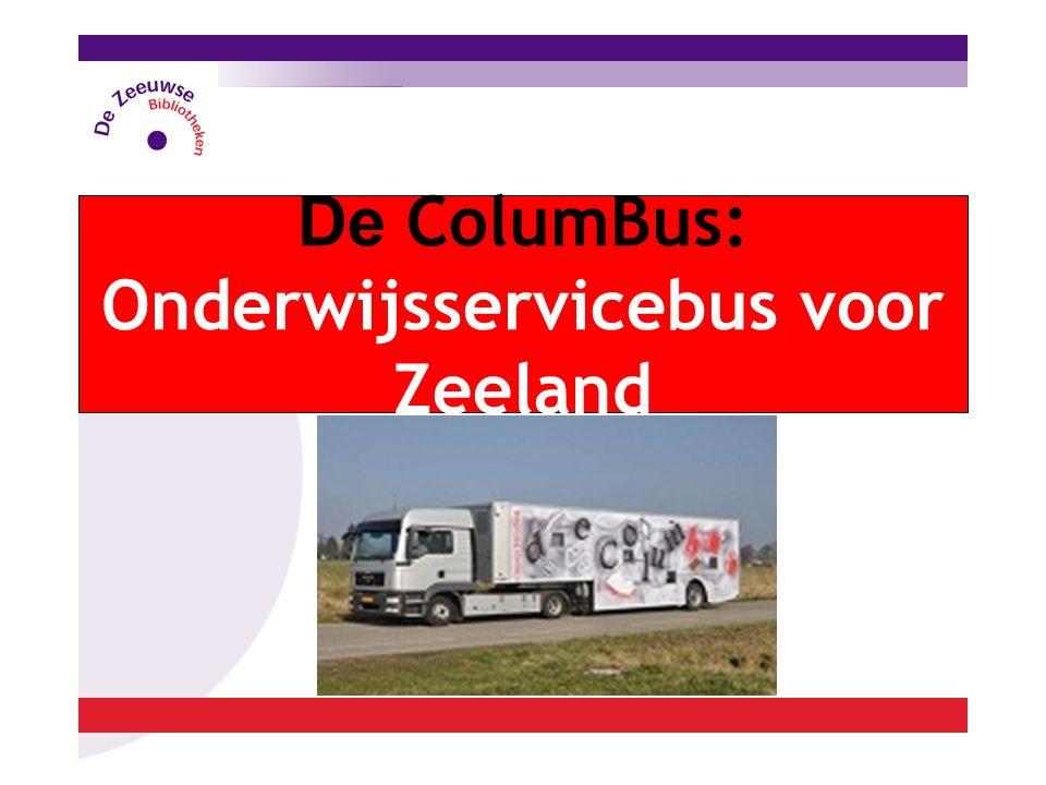 De ColumBus: Onderwijsservicebus voor Zeeland