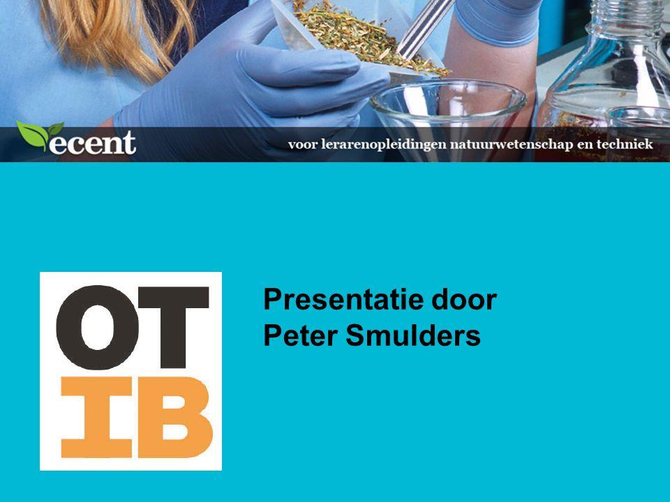 Presentatie door Peter Smulders