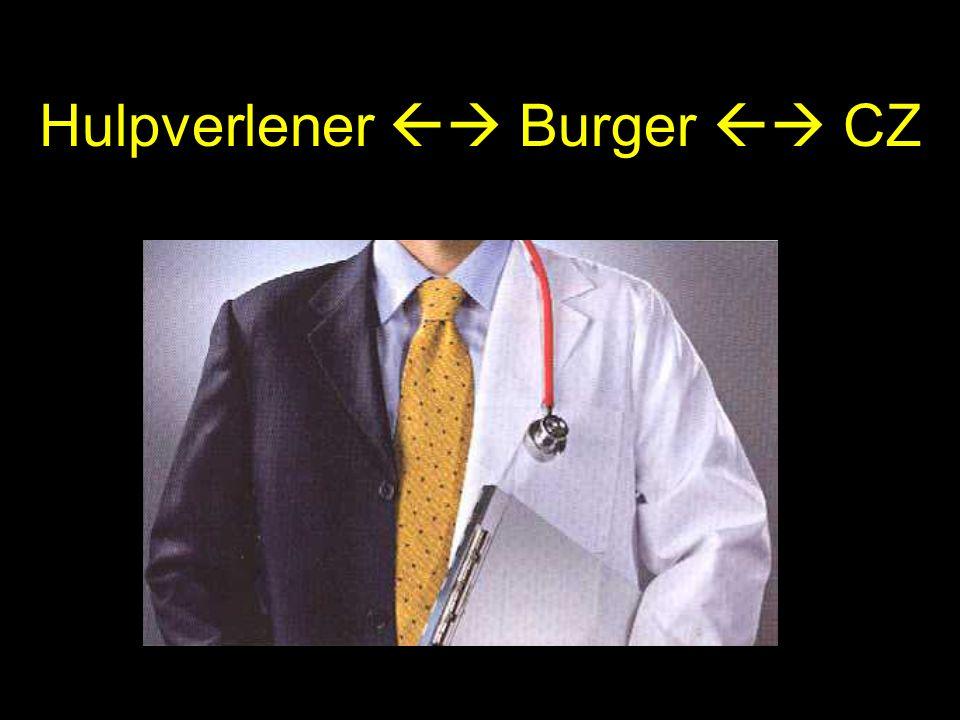 Hulpverlener  Burger  CZ