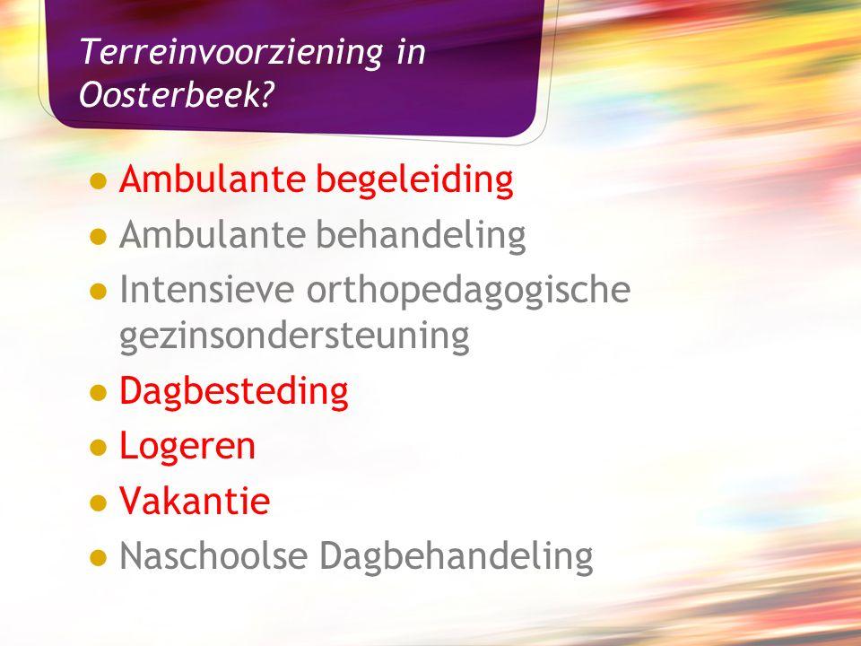 Terreinvoorziening in Oosterbeek.