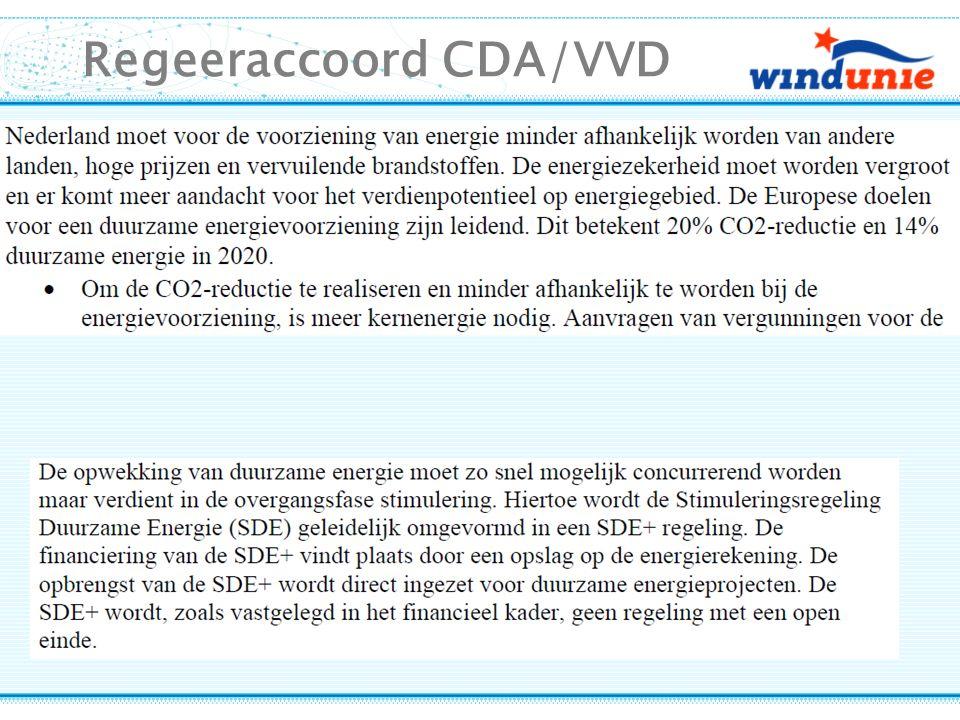 Regeeraccoord CDA/VVD
