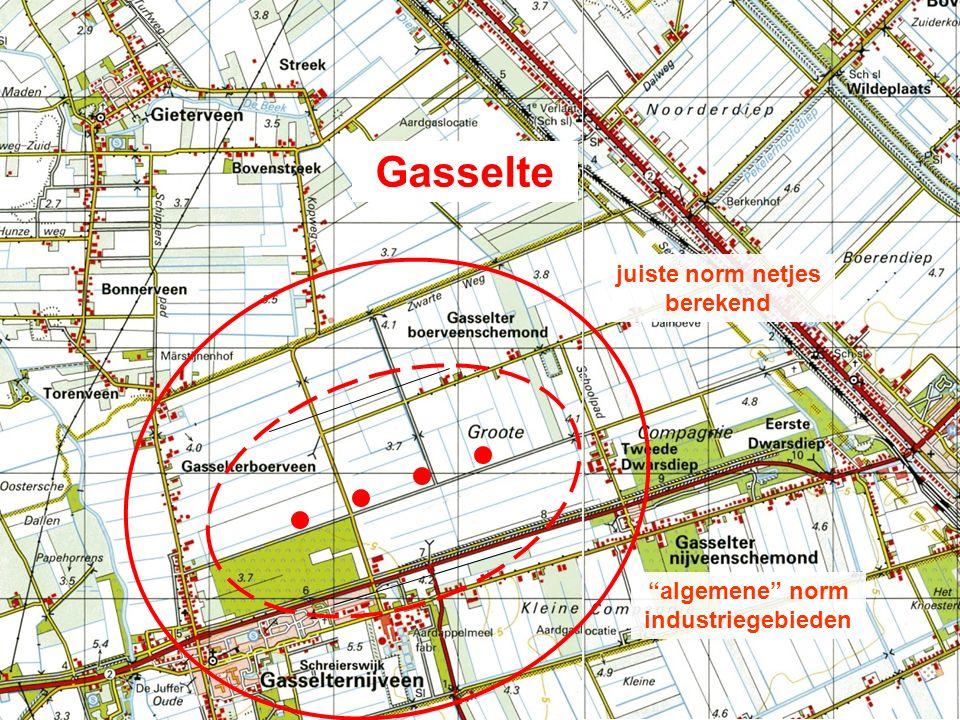 Gasselte algemene norm industriegebieden juiste norm netjes berekend