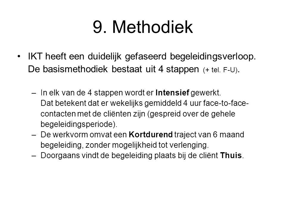 9. Methodiek IKT heeft een duidelijk gefaseerd begeleidingsverloop.