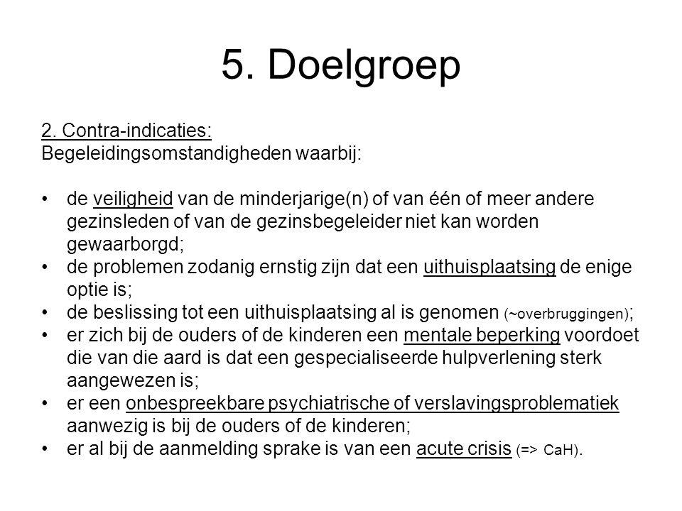 5. Doelgroep 2.