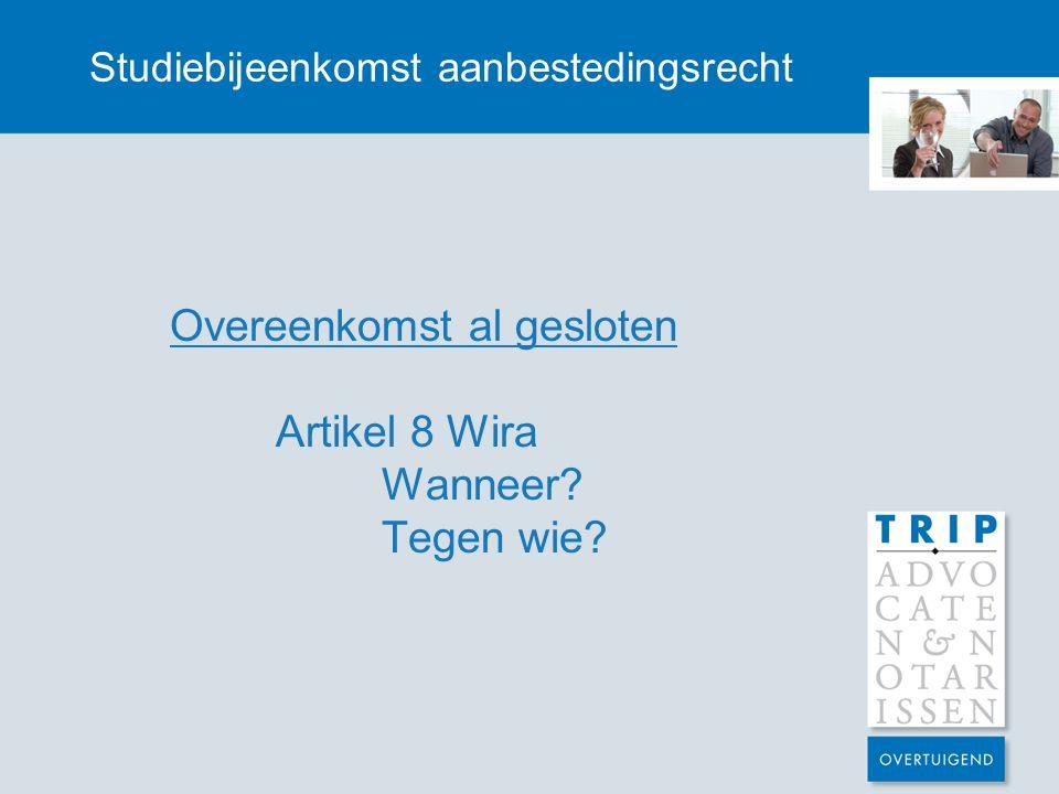 Studiebijeenkomst aanbestedingsrecht Inhoud gunningsbeslissing Vzr.
