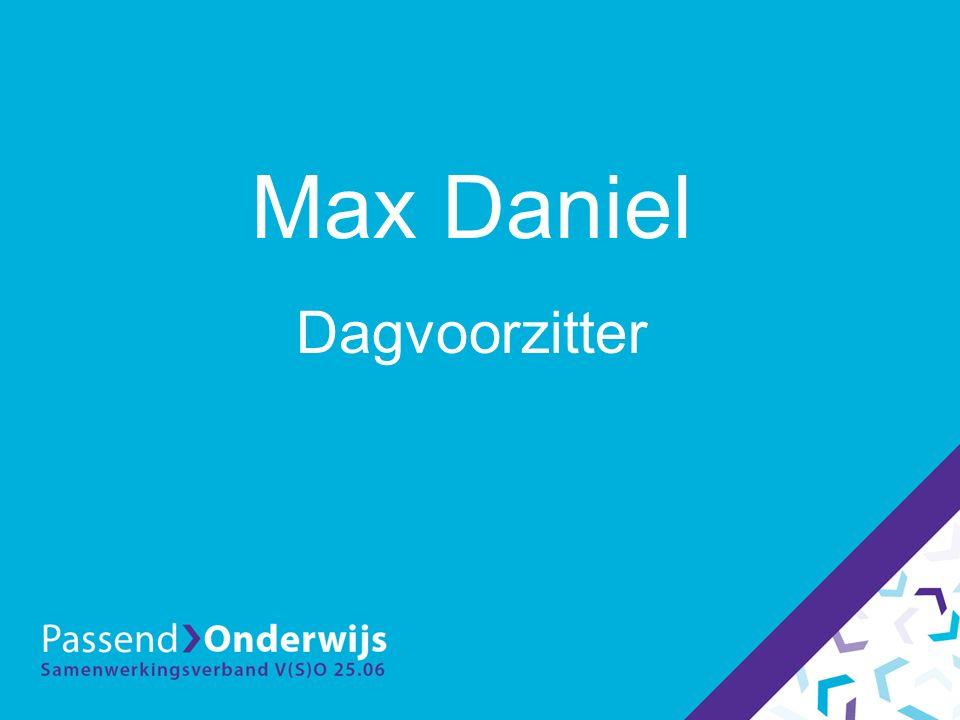 Max Daniel Dagvoorzitter