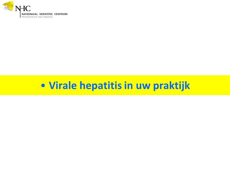 Virale hepatitis in uw praktijk