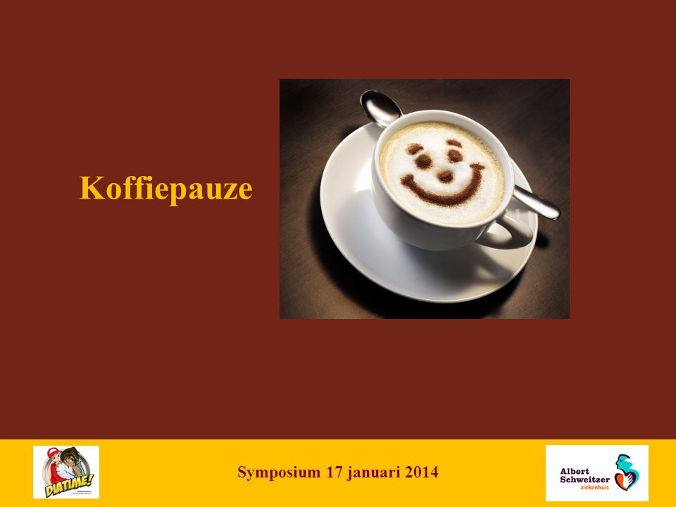 NAME OF PRESENTATION | 9 Koffiepauze Symposium 17 januari 2014