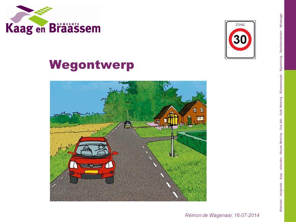 Wegontwerp Rémon de Wagenaar, 16-07-2014
