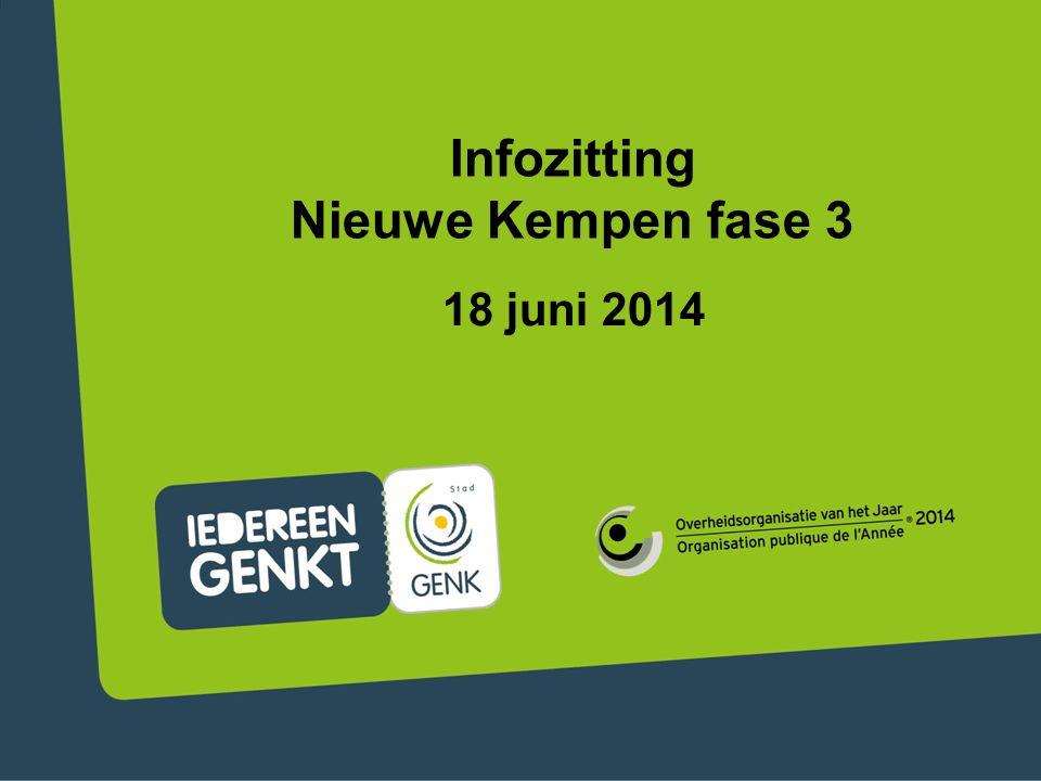 Infozitting Nieuwe Kempen fase 3 18 juni 2014