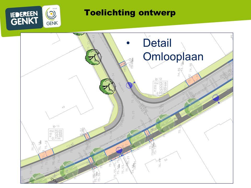 Detail Omlooplaan Toelichting ontwerp