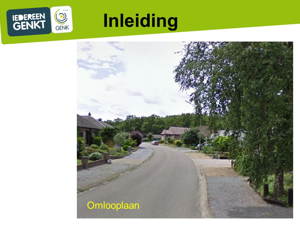 3.Nutsleidingen: -Belgacom doet lokale aanpassingen.