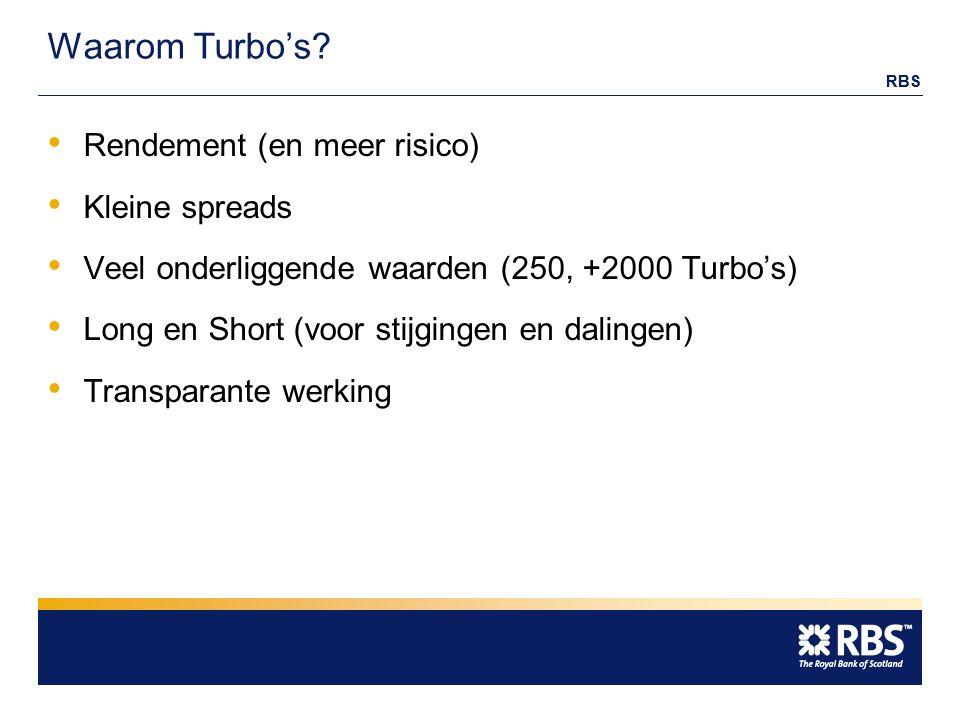 RBS Waarom Turbo's.