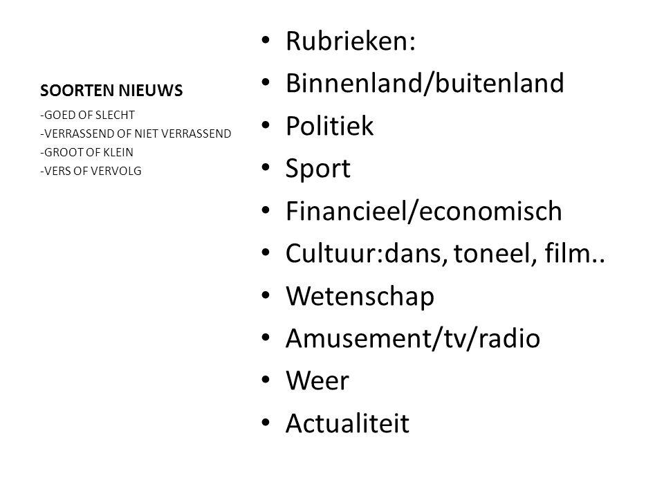 Nieuwsberichten labelen