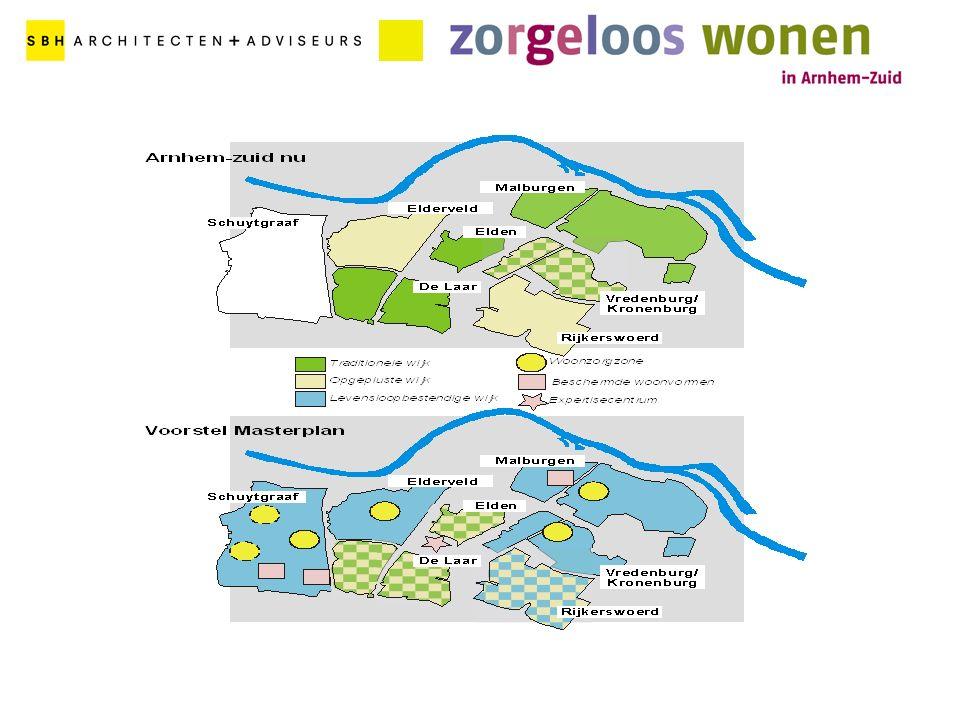 Masterplan 2001 Visie en ambitie De koers (wie, wat, waar en wanneer) Convenant 2001 Afspraken over realisatie masterplan Inspanningsverplichtingen Projectorganisatie Uitvoeringsprogramma 2001 - 2010