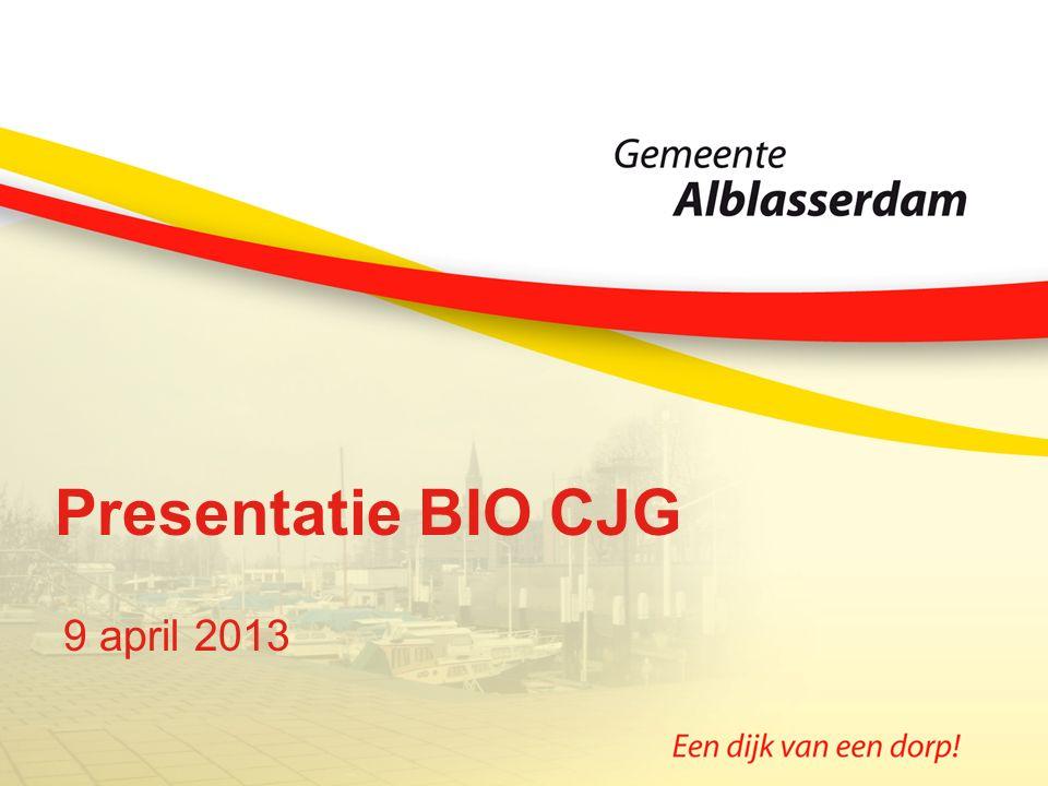 Presentatie BIO CJG 9 april 2013