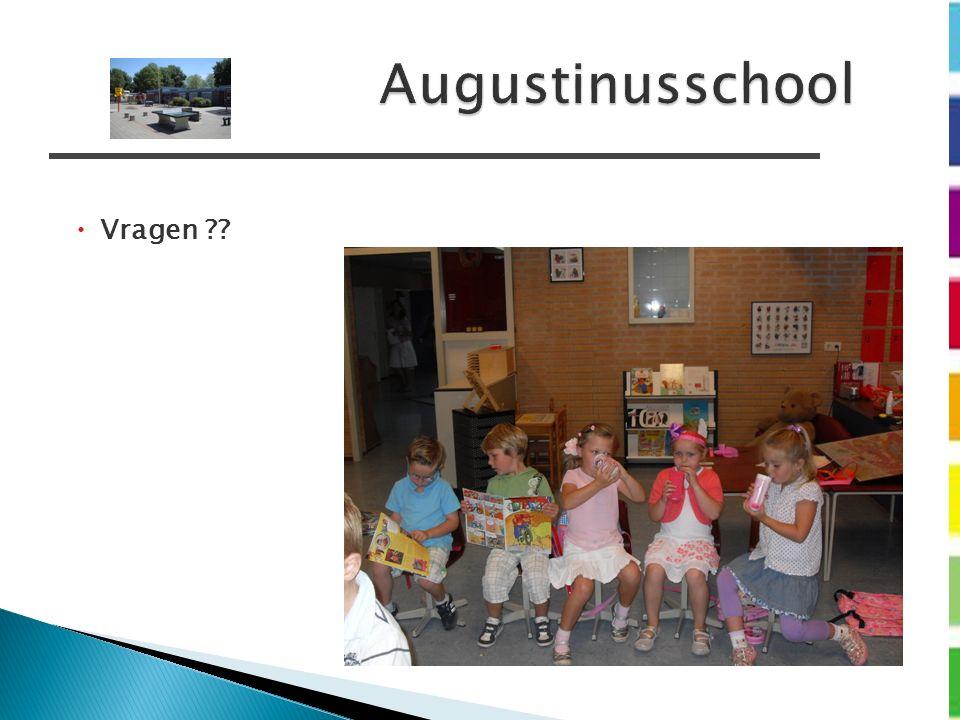 Augustinusschool  Vragen ??
