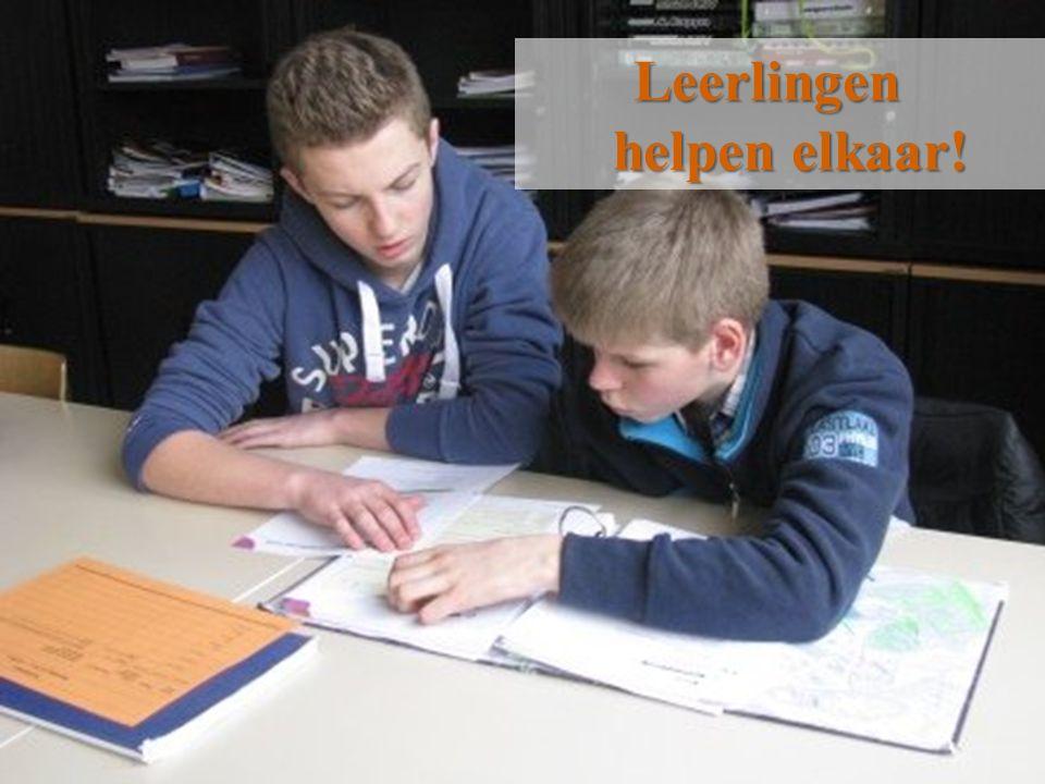 VTI Sint-Lucas Menen11 Leerlingen helpen elkaar!