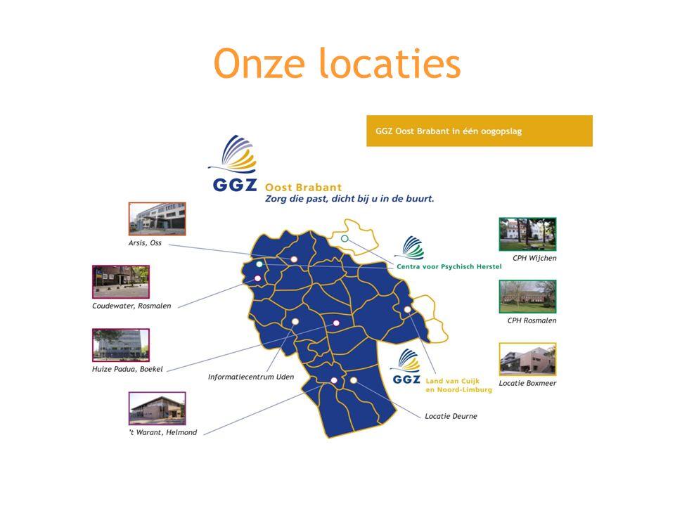 Onze locaties
