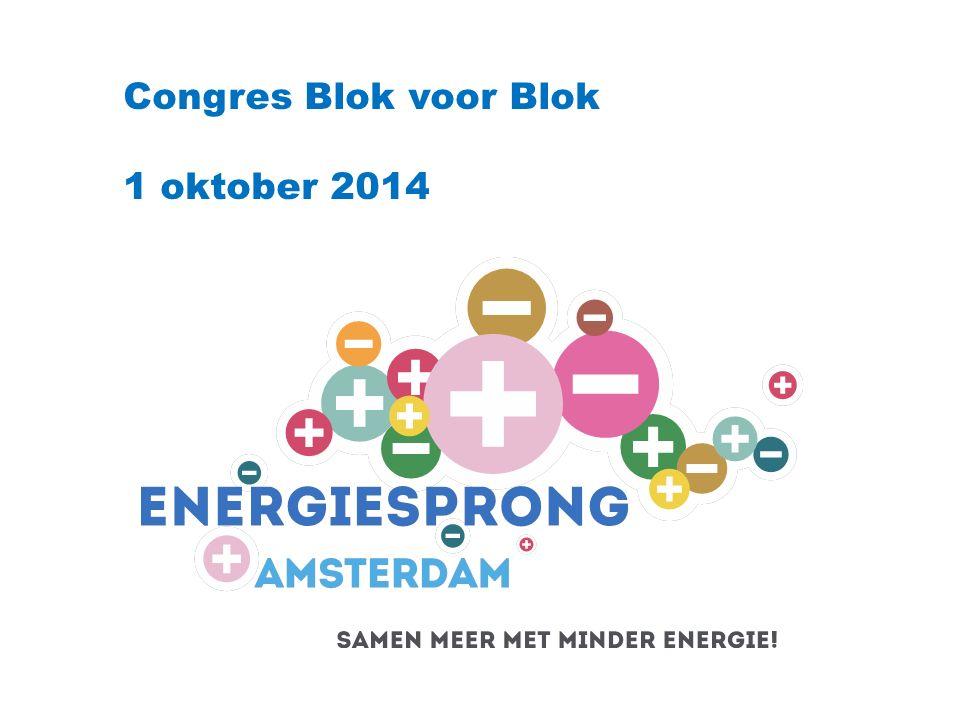 Blok voor Blok Congres 1 oktober 2014 Werkwijze Amsterdam Amsterdamse VvE'en Het ESA consortium Marketing & communicatie Het verleiden Subsidies, leningen en andere voordelen De praktijk 'VvE Churchilllaan' Wat hebben we geleerd?