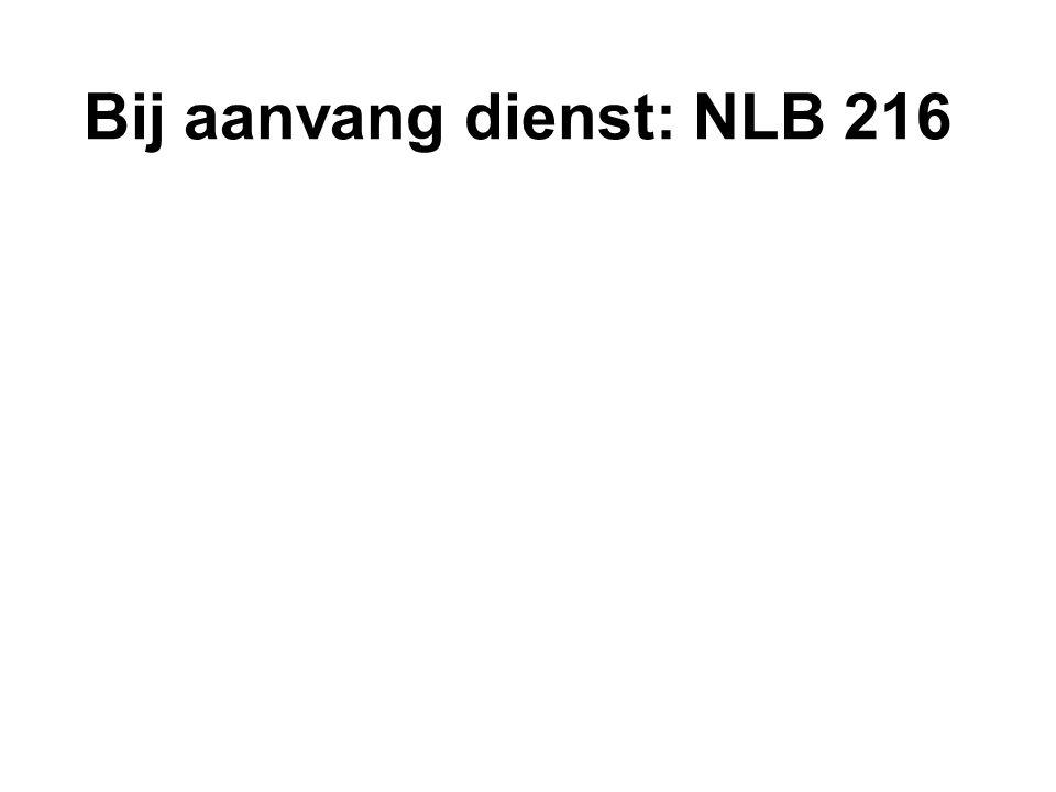 NLB 834: 1, 2 en 3