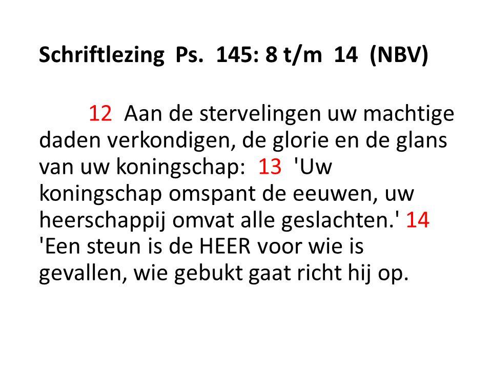 Schriftlezing Ps.